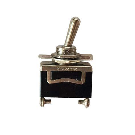 Metal Toggle Switch Pin Spst Mgi Speedware