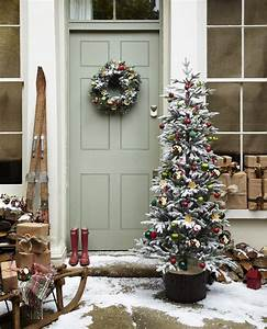 Christmas, Decorations, Inspiration, Sage, Green, Front, Door