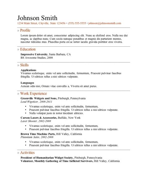 resume template for high student internship opportunities 5 important things