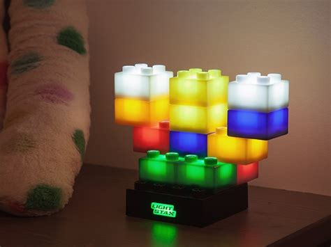 light up legos light up building blocks by light stax the grommet