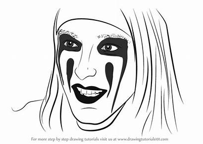 Draw Christian Coma Drawing Step Tutorials Singers