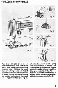 Kenmore 158 1603 1703 1803 1813 Sewing Machine Threading