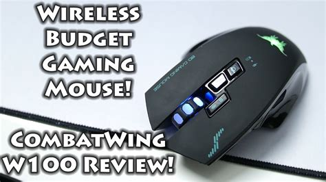 Combatwing W100 Wireless Gaming Mouse Review Youtube