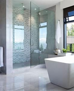 Salle De Bain Le Roy Merlin : relooker une salle de bain 42 id es en photos ~ Melissatoandfro.com Idées de Décoration