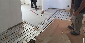 Epaisseur Chape Plancher Chauffant : paisseur plancher chauffant choisir son plancher chauffant ~ Melissatoandfro.com Idées de Décoration