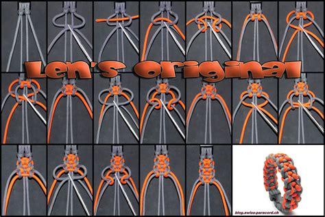 len selber herstellen len s original im energy style paracord paracord armb 228 nder seil armb 228 nder und paracord