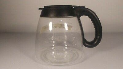 Buy delonghi carafes and get the best deals at the lowest prices on ebay! Mr. Coffee 12-Cup Replacement Extra Coffee Carafe Pot - Black Handle/Lid | eBay