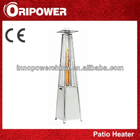 quartz glass pyramid patio heater view pyramid patio