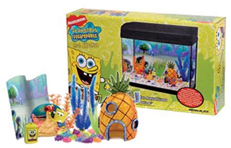 Spongebob Fish Tank Decor Set by Spongebob Squarepants Bottom Aquarium Decoration Kit
