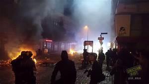 Riots Scorch Hamburg as G20 World Leaders Meet - YouTube