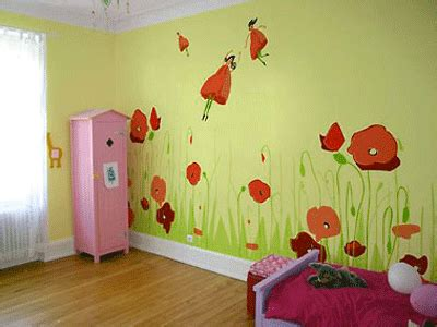 Home Decoration Five Fun Painting Ideas For Kids Rooms