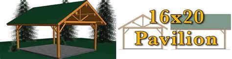 16x20 log pavilion meadowlark log homes