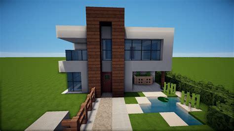 Minecraft Modernes Haus Mit Balkon Bauen Tutorial [german