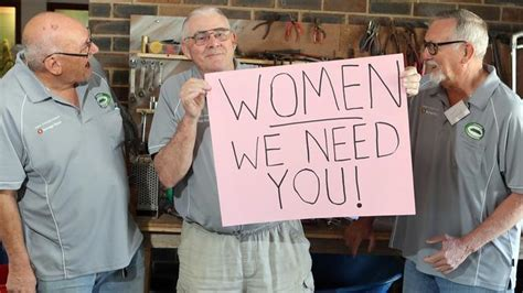 Oxenford Men's Shed opens doors to female members | Gold ...