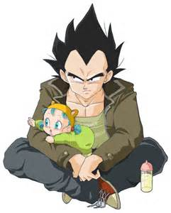 Super Dragon Ball Vegeta and Bulla