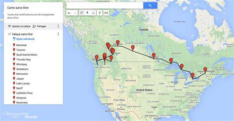 l canada l ouest canadien mon itin 233 raire et voyage 224 travers le