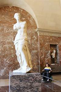 Greek Sculptures in the Louvre: Venus de Milo and Winged ...