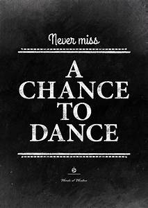 Best inspirational dance quotes on