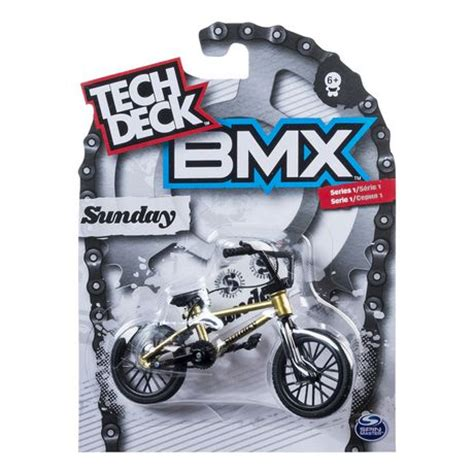 tech deck bmx series 1 sunday yellow finger bike walmart ca