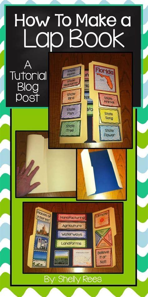 lap book   template language arts