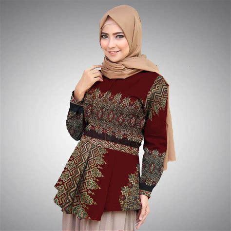 model baju batik guru seragam terbaru model baju