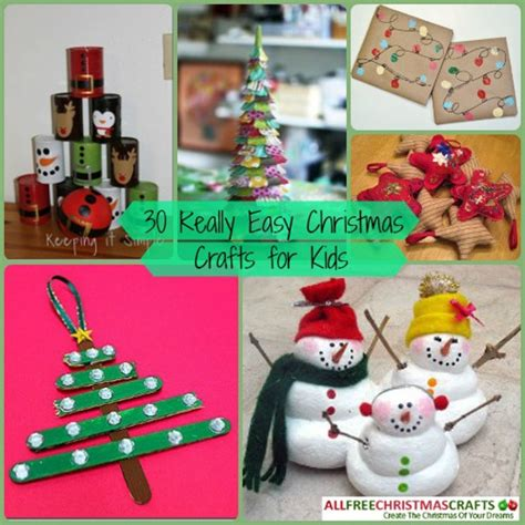 really easy christmas crafts 30 really easy crafts for allfreechristmascrafts