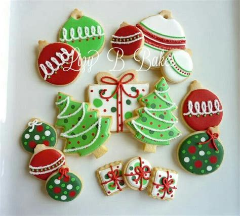 cookies christmas images  pinterest