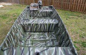 Camouflage 16 U0026 39  Jon Boat  Motor And Trailer