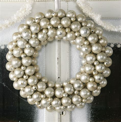 dishfunctional designs vintage ornament wreaths