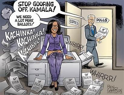 Garrison Ben Cheating Democrats Biden Cartoon Asses