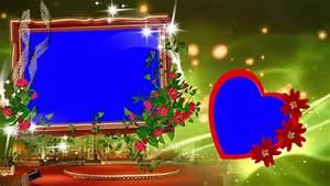 HD Beautiful Animated Wedding Frame Background Video - YouTube
