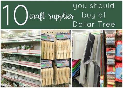 craft supplies   buy  dollar tree average