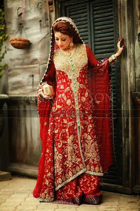 latest style pakistani bridal outfits combinations