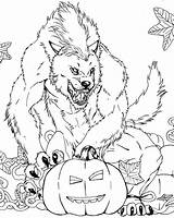 Coloring Scary Monster Pages Cute sketch template