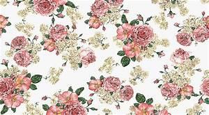 Vintage Floral Wallpaper Pattern   WallpaperHDC.com
