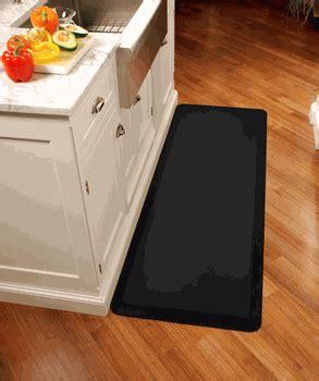 black kitchen floor mats black wellness mats anti fatigue kitchen mat 6 x 2 on 4701