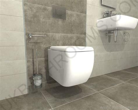 RAK Ceramics Metro Wall Mounted WC with Grohe Rapid