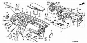 Instrument Panel For 2007 Honda Accord Sedan