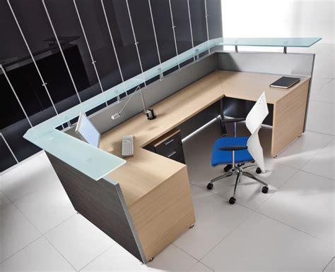 Bralco Square Modular Reception Desk 2   Office Furniture