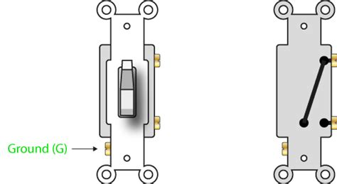 Diagram For Wiring Single Pole Throw Toggle by How A 2 Way Switch Works Single Pole Single Throw Or