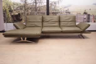 koinor sofa outlet koinor modell francis eckgarnitur pl er in leder b buffalo olive ebay