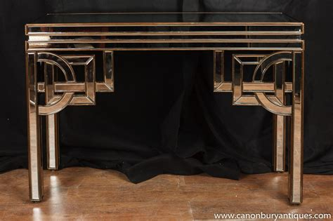 deco mirrored console table tables 1920s furniture