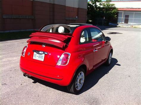 Used Fiat Convertible For Sale by Find Used 2012 Fiat 500 C Pop Convertible 2 Door 1 4l In