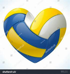 Love, Volleyball, Stock, Vector, 74945326