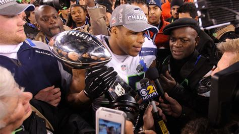 super bowl  champions seahawks players coaches speak