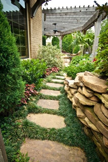 Big Backyard Landscaping Ideas by Big Ideas In Small Spaces Traditional Landscape