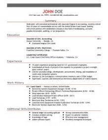 key attributes for resume resume attributes