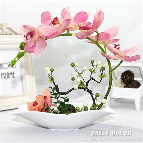 jual bunga plastik bunga aliexpress buy high simulation artificial orchid