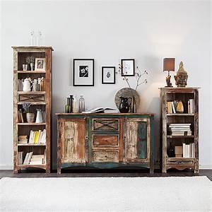 Sideboard Mango Massivholz 90x150 Esszimmer Anrichte