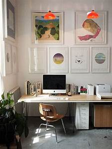 Fengshui home office ideas for small space with modern